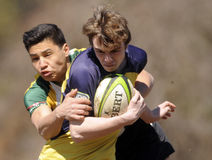 High School Club Rugby Royalty Free Stock Photos