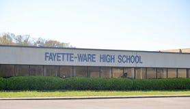High School degli Fayette-articoli, Somerville, TN immagini stock libere da diritti