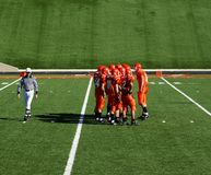 High School Football Stock Image