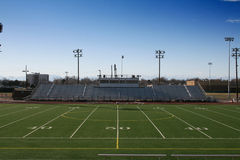 High School Football Field Stock Photo