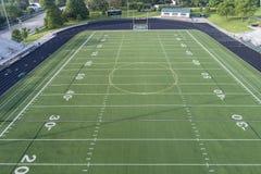 High School Football Field Aerial Royalty Free Stock Photo