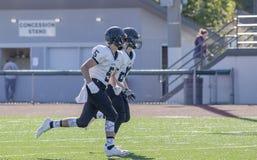High school football players Royalty Free Stock Photo