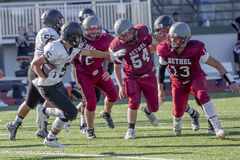 High school football players Stock Images
