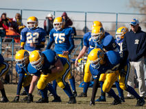 High School Football Royalty Free Stock Images