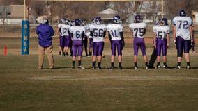 High School Football Royalty Free Stock Photo
