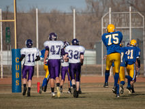 High School Football Stock Images