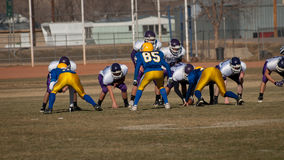 High School Football Royalty Free Stock Photography