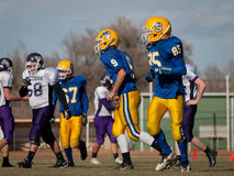 High School Football Royalty Free Stock Photography