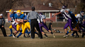 High School Football Royalty Free Stock Image