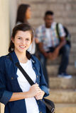 High school girl Royalty Free Stock Images