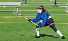 High School Girls Lacrosse practice Stock Photos
