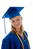 High school graduate Stock Photography
