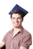 High school graduate smiling Royalty Free Stock Images