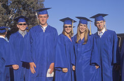 High school graduates Stock Images
