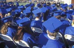 High school graduates Stock Photography