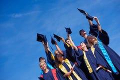 High school graduates students Stock Photography