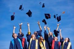 High school graduates students Stock Image