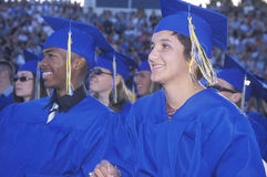 High school graduating Royalty Free Stock Images
