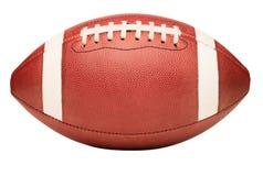 High School Junior Football da faculdade americana no branco imagens de stock