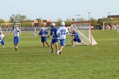 High School Lacrosse Stock Photos