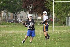 High School Lacrosse Royalty Free Stock Photo