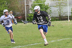 High School Lacrosse Stock Images