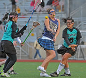 High school lacrosse Stock Photos