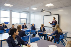 High School Lesson Royalty Free Stock Images