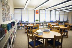 High School Library Reading Room Royalty Free Stock Photos