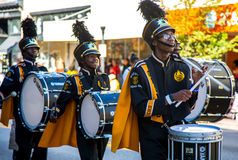 High School Marching Band Royalty Free Stock Photo