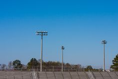 High School Bleachers Royalty Free Stock Photo