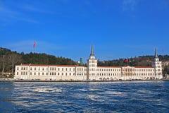 High School militare di Kuleli, Costantinopoli, Turchia Immagini Stock Libere da Diritti
