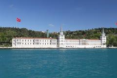 High School militare di Kuleli nella città di Costantinopoli Fotografie Stock