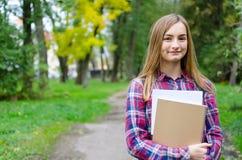 High School o studente di college adulta adolescente o giovane Immagini Stock