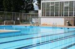 High School Pool Royalty Free Stock Image