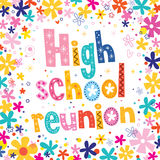 High school reunion Stock Photo