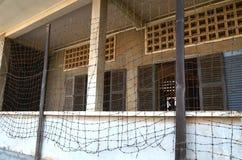 High School S-21 de Khmer Rouge Fotos de Stock