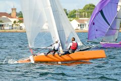 High School Sailing Championships 2. Royalty Free Stock Photography