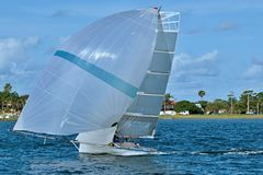High  School  Sailing  Championships. Stock Photos