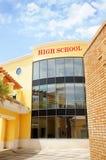High School secundaria Imagenes de archivo