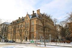 High School secundaria académica Viena Fotos de archivo
