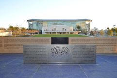 High School secundaria de Los Ángeles de los artes Imagen de archivo