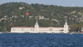 High School secundaria militar de Kuleli en Estambul Fotos de archivo libres de regalías