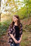 High School Senior Portrait Outdoors Royalty Free Stock Photos