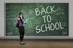 High school student back to school Stock Images