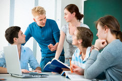 High school students Stock Photography