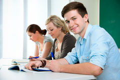 High-school students Royalty Free Stock Images