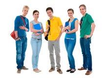 High-school students royalty free stock photos