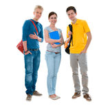 High-school students Royalty Free Stock Photo