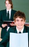 High school students Stock Image